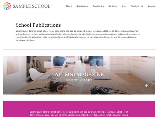 Finalsite Posts Offers New Content Opportunities for Schools, Colleges and Districts