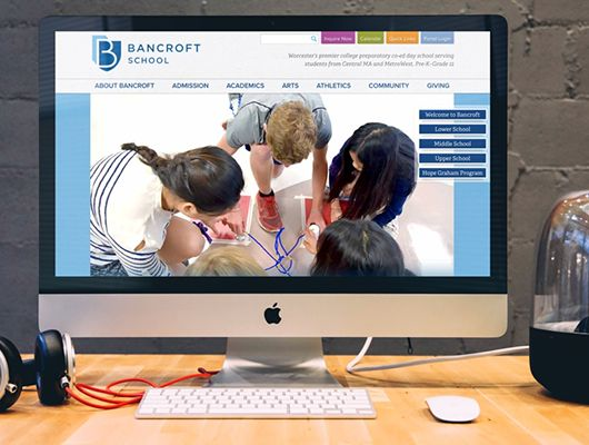 How Bancroft School Grew Website Traffic using Online Paid Search and Social Media Ads