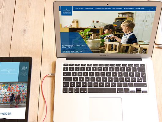 International School Increases Website Inquiries by 30% With Redesign