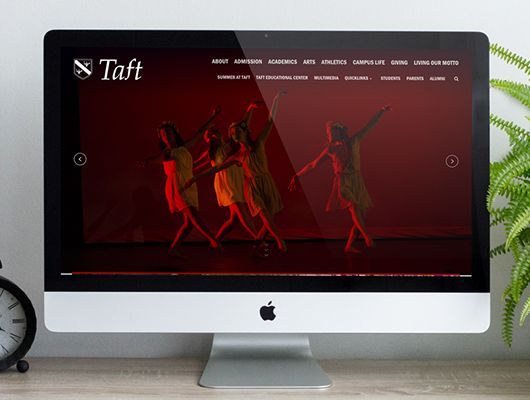 Taft School: Best-in-Class Website Redesign Spotlight