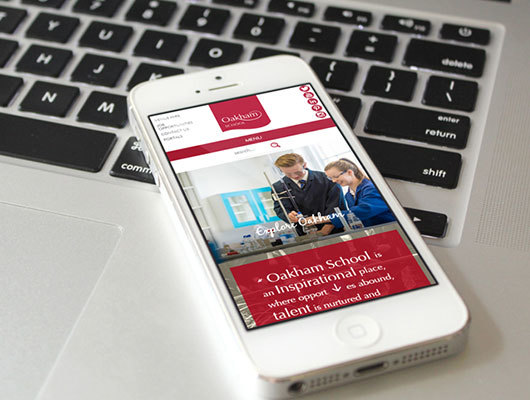 Case Study: Oakham School Website