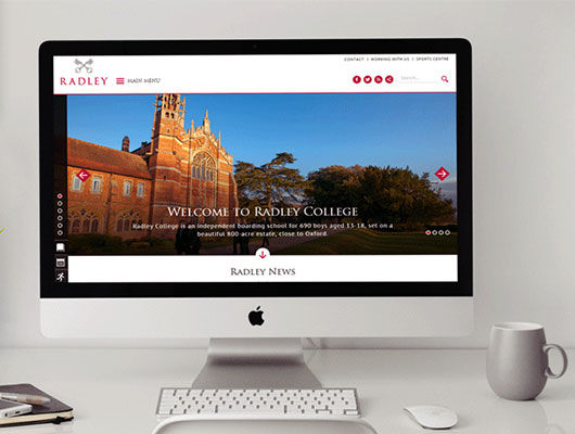 Radley College Case Study - Creating a School Website That Reflects a Quintessential British Brand