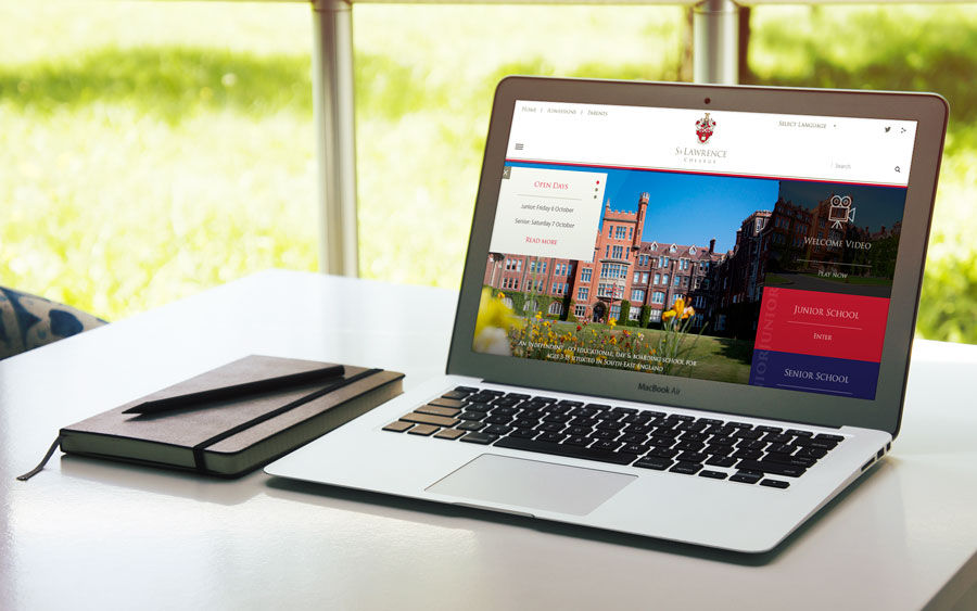 St Lawrence College Case Study - A New School Website for a New School Year!