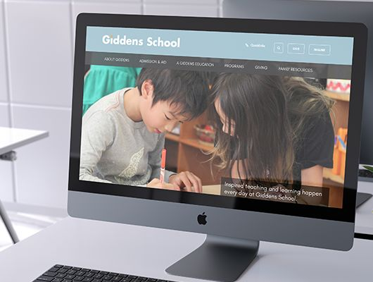Feature Friday: How Giddens School Transitioned from Open Source to Finalsite