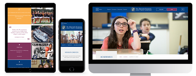 How St David's School Captured Their Message, Vision And Culture In Their School Website