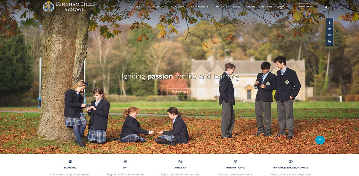 How a Top Small Independent School in Oxfordshire Increased its Website Visitors by 40%