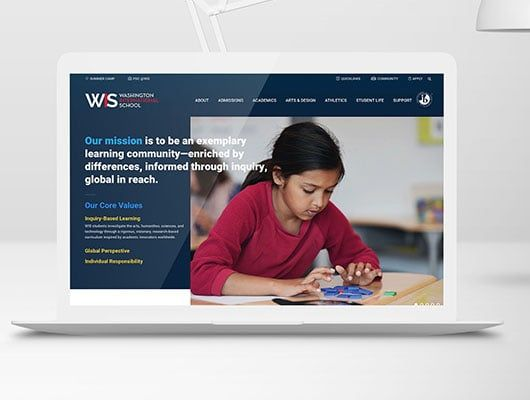 How Washington International School Launched Its Redesign in a Small Shop