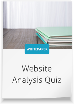 website analysis quiz