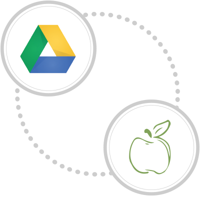 Seamless integration with Google Drive