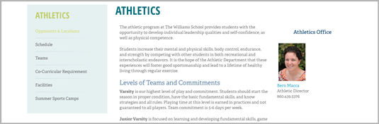 Williams Athletics