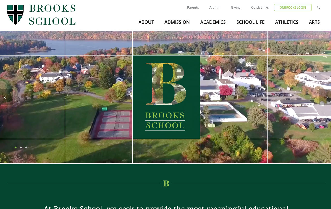Brooks School Homepage