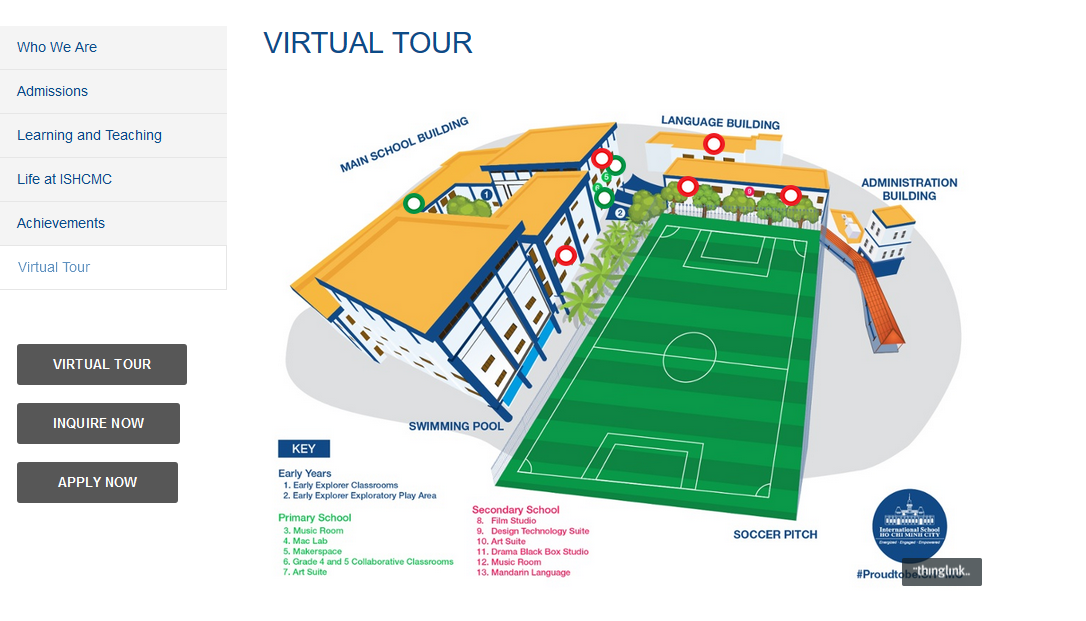 ISHCMC Virtual Tour