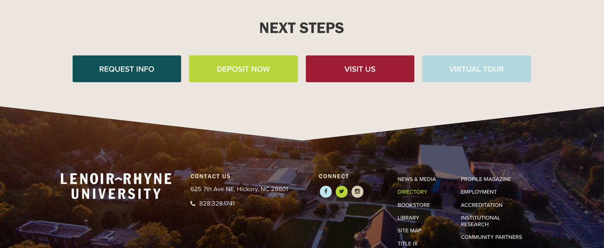 6 Factors of Great Calls-to-Action for College Websites | Blog