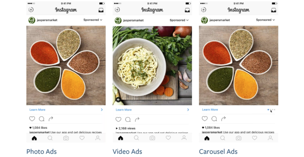 Instagram Ad Examples