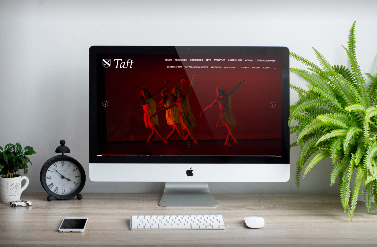Taft's New Website