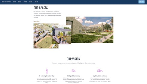 William Penn Charter School Microsite