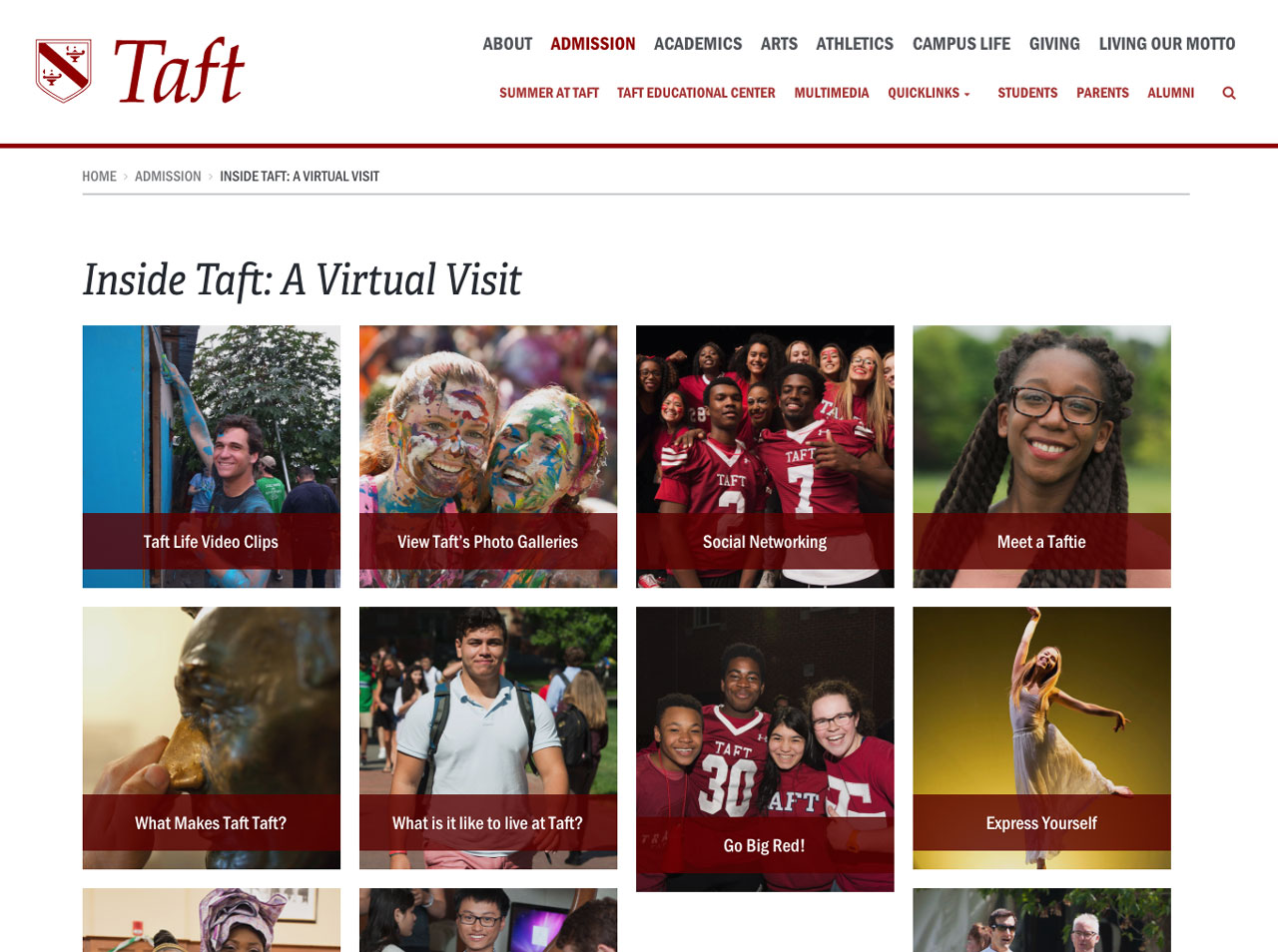 Taft Virtual Visits