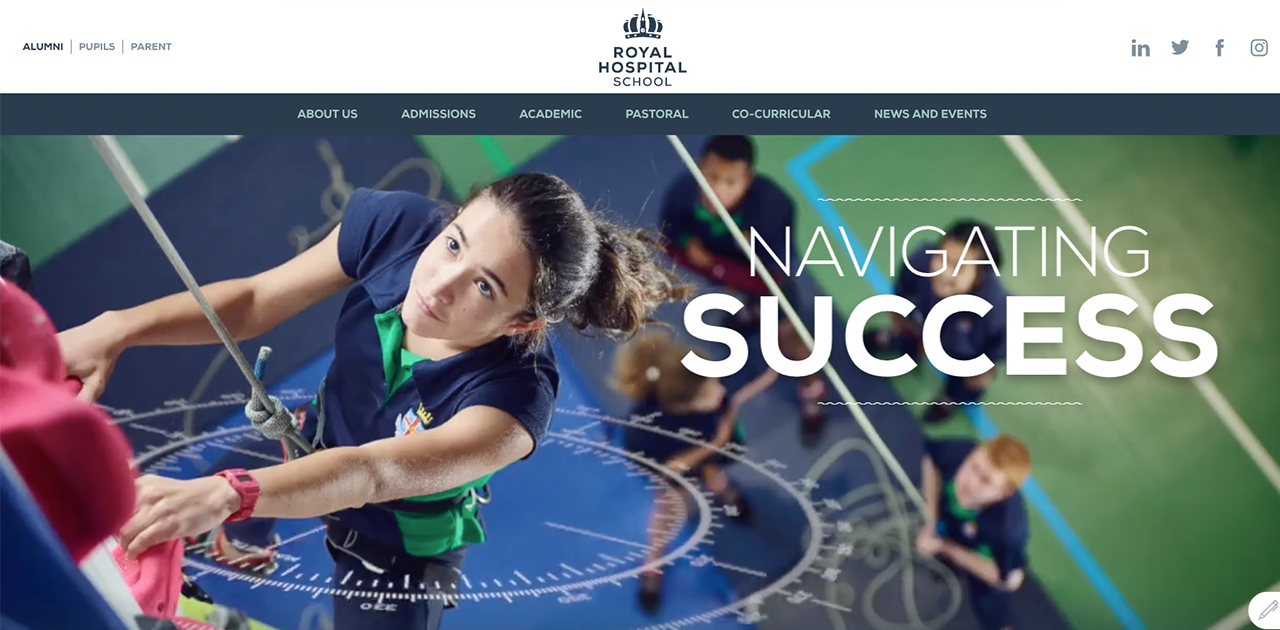 Homepage - Royal Hospital School