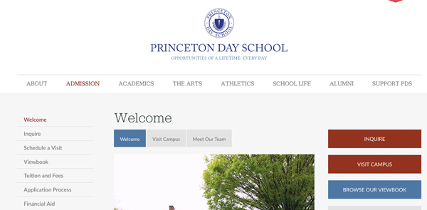 Princeton Day School Calls to Action
