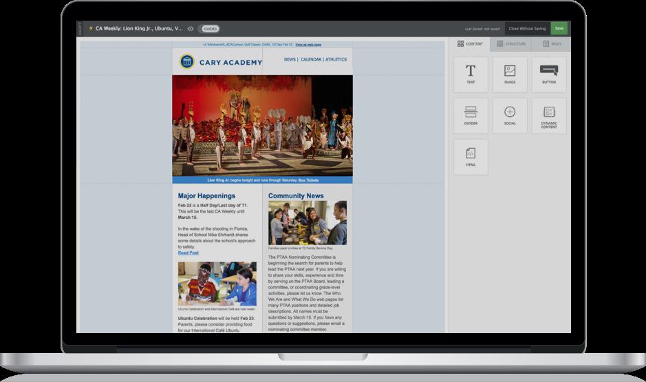 Finalsite Uk School Web Design Cms Digital Marketing Platform