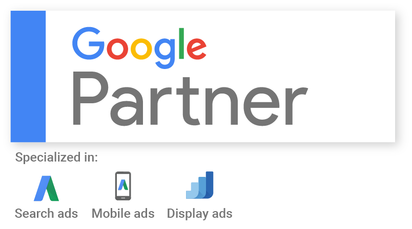 google partner logo - finalsite is a google partner